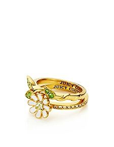 Daisy and Vine Ring