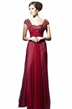 CharliesBridal Burgundy Sweetheart Formal Evening Dress w/ Cap Sleeve, http://www.amazon.com/dp/B00AV57AIY/ref=cm_sw_r_pi_awdm_pLaktb0QK4S3M