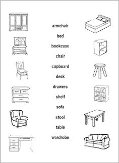 Printable read-and-match worksheets for kids to learn, practise and revise English vocabulary. Sorted alphabetically by topic, with wordlists. Resources for ESL teachers. English Lessons For Kids, Kids English, Learning English, English Words, First Grade Math Worksheets, Kindergarten Worksheets, All About Me Printable, Test For Kids, Alphabet Phonics