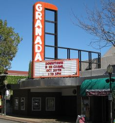 Granada Theater - Morgan Hill, California...use to see movies there as a kid.