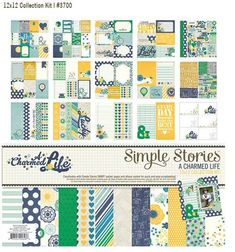 A seriously amazing collection from #simplestories #acharmedlife. A Charmed Life. I NEED this collection for My Mr Man pages!