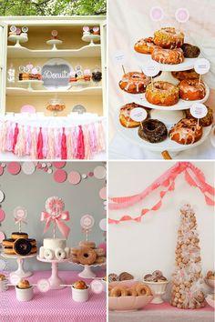 Los dónuts, invitados al banquete de bodas www.webnovias.com/blog