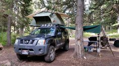 Did some camping this weekend. Nissan Xterra, Truck Camping, Back Road, Future Car, Home And Away, Camper Van, The Great Outdoors, Offroad, Cars Motorcycles