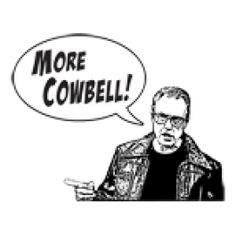 Get the MORE COWBELL - SNL SHIRT funny shirt at Better Than Pants!