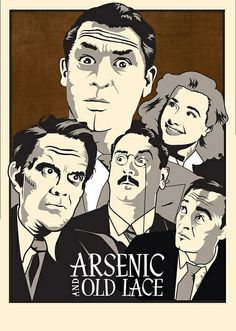 Arsenic and Old Lace Film Poster by meredithkresge, via Flickr