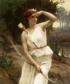 Diana the Huntress by Guillaume Seignac