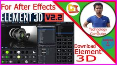 How to download element 3d v2 2After Effect's element 3D download link2017 https://youtu.be/G9u3gy4uEPQ