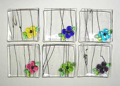 Latta's Fused Glass - Hand Crafted Fused Glass Plates - Jewelry Plates