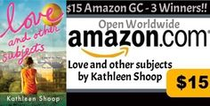 #Love-and-other-subjects #KathleenShoop #books #Review #Giveaway