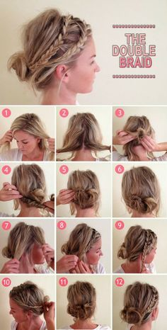 The double braid | PinTutorials