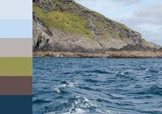 Turfprojects.ie Sherkin Island Cork Ireland Inspiration Colour Palettes Irish Landscape