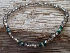 Beaded Bracelet for men Gemstone bracelet for men by DESERTDUSTMEN