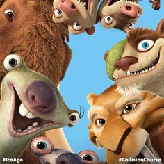 Best Friends Fur Ever. Happy #FriendsDay from #IceAge! #CollisionCourse