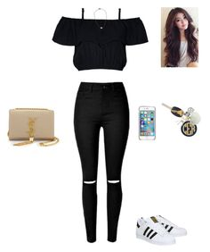 """""""Untitled #340"""" by kristian321 ❤ liked on Polyvore featuring adidas, MICHAEL Michael Kors, Ray-Ban, Yves Saint Laurent, Hartford and Givenchy"""