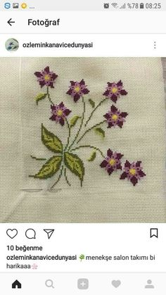This Pin was discovered by Sem Small Cross Stitch, Cross Stitch Heart, Cross Stitch Borders, Cross Stitch Flowers, Cross Stitch Designs, Cross Stitch Patterns, Hand Embroidery Patterns, Cross Stitch Embroidery, Wedding Cross Stitch