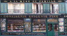 La Mere de Famille, oldest chocolate shop in Paris. 35 Rue du Faubourg Montmartre, 75009 Paris, France