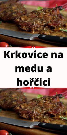Krkovice na medu a hořčici Beef, Food, Meat, Essen, Meals, Yemek, Eten, Steak