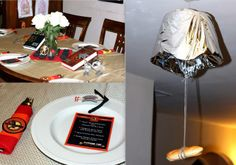 Hunger Games/Catching Fire party decor