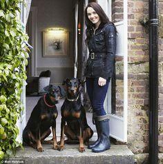 Victoria Pendleton, Olympia Siegerin, owner of 2 Dobermanns. #Doberman