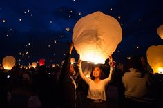 The inaugural Lantern Festival in Denver is a two-night event where people will light up the skies like in a traditional Chinese lantern send-off, but with a Mile High twist. The festival will be lifting off April 23 and 24 from the Colorado National Speedway.