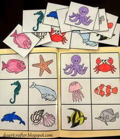 File Folder Games for Preschoolers