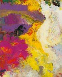 Gerhard Richter, Sindbad (Sinbad), 2008 30 cm x 24 cm Catalogue Raisonné: 905-21, Lacquer on back of glass