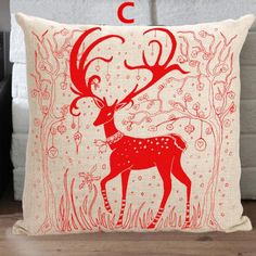 Creative Christmas throw pillow for sofa