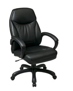 Comfort Seating Office Chair - Pin it :-) Follow us :-)) AzOfficechairs.com is your Officechair Gallery ;) CLICK IMAGE TWICE for Pricing and Info :) SEE A LARGER SELECTION of  comfort seating  office chair at http://azofficechairs.com/?s=comfort+seating+office+chair  - office, office chair, home office chair - High Back Faux Leather Executive Chair « AZofficechairs.com