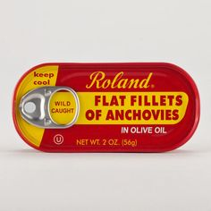 One of my favorite discoveries at WorldMarket.com: Roland Anchovies