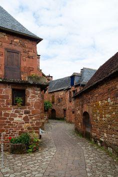 Collonges-la-Rouge, Limousin, France.