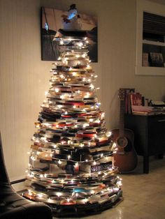 books christmas tree