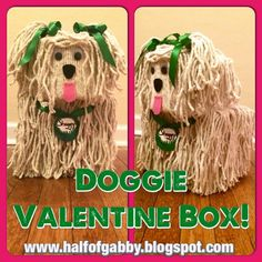 HALF OF GABBY: How to Lose Weight & Get Fit: DOGGIE VALENTINE BOX: Pictorial Included!