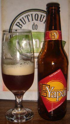 Cerveja Yapai Roja Especial, estilo Irish Red Ale, produzida por Yapai, Argentina. 4.5% ABV de álcool.