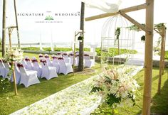 Intimate, elegant and luxurious #wedding #decoration by The Signature Weddings