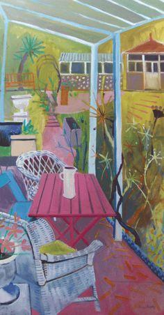 Veranda by Jenny Wheatley