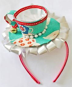 Mad Hatter's Tea Party... so cute for a baby shower.