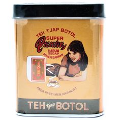 Teh Cap Botol Celup Vintage 40g