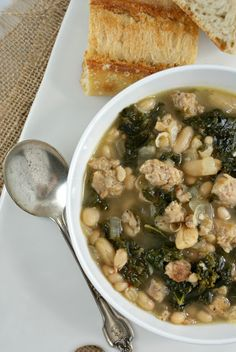 Authentic Suburban Gourmet: Kale and Sausage Soup