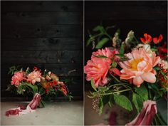 Brogen Jessup Photography   Peony pink summer bouquet by Native Poppy