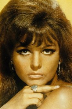 Portrait of Claudia Cardinale for Don't Make Waves directed by Alexander Mackendrick, 1967
