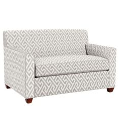 Sleeper Sofa (Stock Plus Pattern)  | The Land of Nod Like the design for accent wall