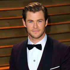 Chris Hemsworth named as sexiest man alive ♥ George Clooney Amal Alamuddin, Snowwhite And The Huntsman, Chris Hemsworth Thor, Z Cam, Chris Pine, Celebrity Dads, Celebrity Style, People Magazine, Man Alive