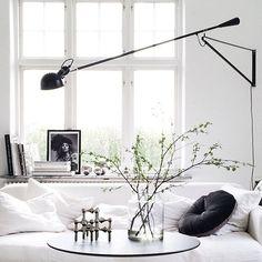 Minimalist Bedroom Bed Loft minimalist home living room interiors.White Minimalist Bedroom Storage minimalist home living room interiors. Minimalist Interior, Minimalist Bedroom, Minimalist Decor, Modern Minimalist, Home Interior, Interior Architecture, Interior Decorating, Modern Interior, Flos 265