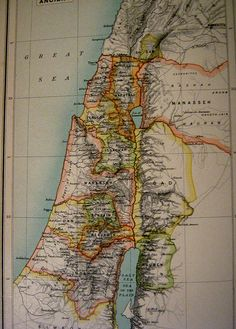 Map of ancient Palestine/Israel