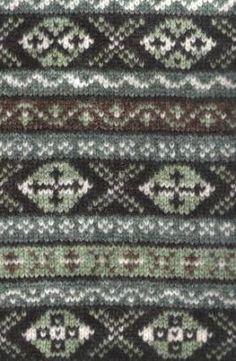 Fair Isle pattern - Scottish!
