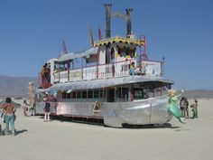 Sinbad and I on the Loose: Art Cars of Burning Man