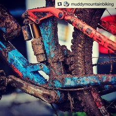 You know you've had a good ride when you're bike looks like this!  Via #muddymoutainbiking  Visit us at mtbsoul.com for all the latest news reviews and offers  #mountianbike #mountainbiker #mountainbikes #mountainbikelife #mountainbikers #mountainbiketrip #mountainbikefb #mtblife #mtbrider #mtblovers #mtbworld #mtbtrails #mtbaddict #mtbrace #mtbphotos #mtbporn #mtbride #mtbgirls #downhillmtb #downhillmountainbiking #downhillbike #downhillgirl #downhillbiking #bikinglife #bikingadventures