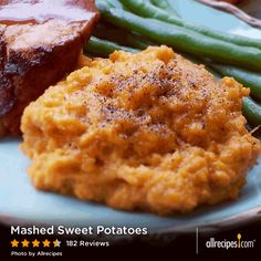 Mashed Sweet Potatoes | This video shows you how to make easy mashed sweet potatoes. They're flavored with maple syrup and a little butter—and so much easier to make than sweet potato casseroles.