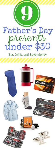 9 Father's Day Presents Under $30