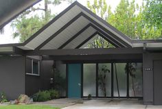 EICHLERS: FRONT DOOR TO A SUBLIMINAL SUBURBIA  